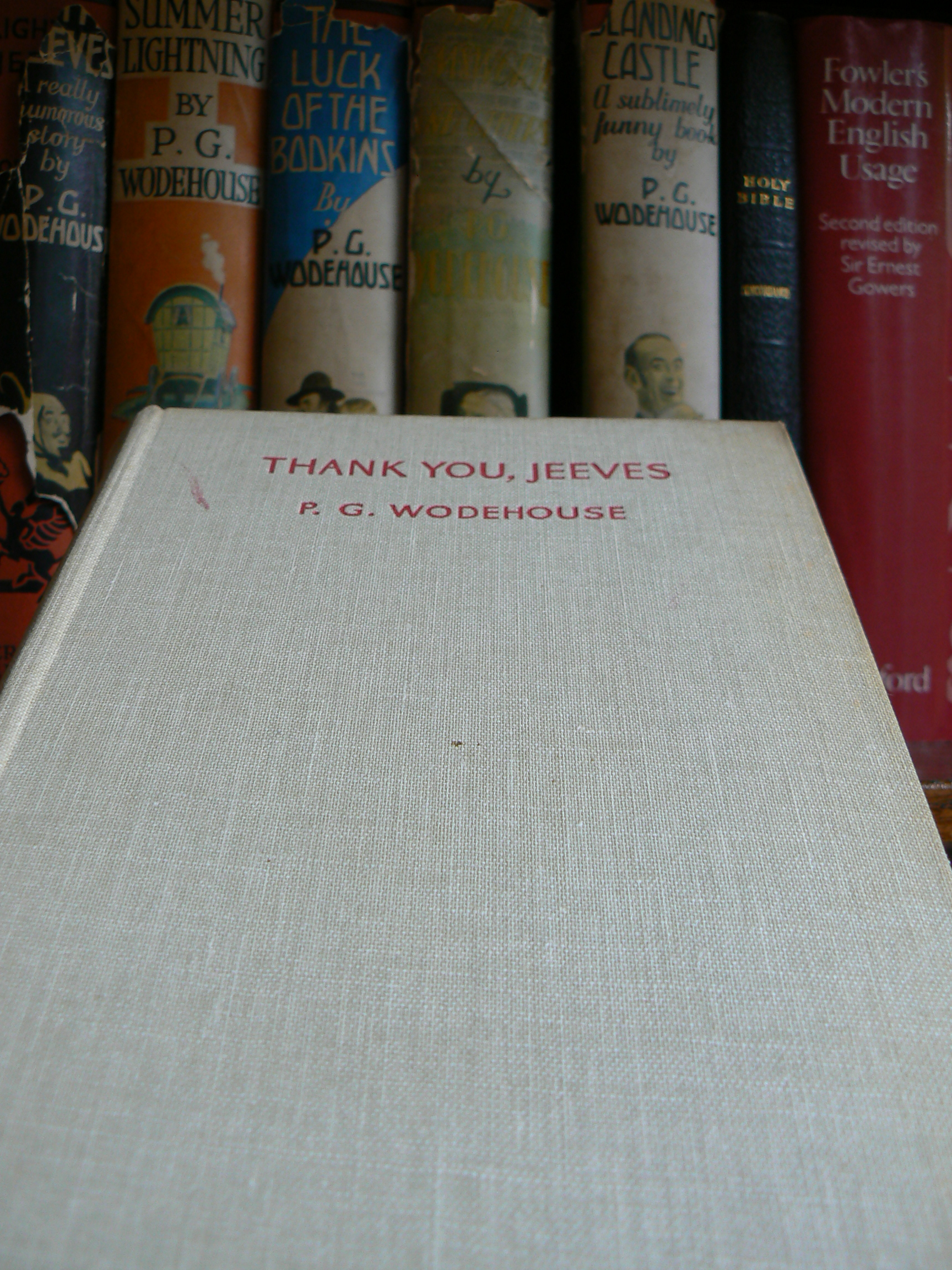 Thank You, Jeeves - P.G.Wodehouse