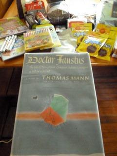 0350 | Dr Faustus | Thomas Mann | 55% | Okay
