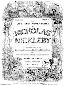 0533 | The Life and Adventures of Nicholas Nickleby | Charles Dickens post image